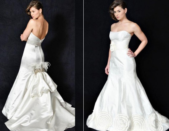 Heidi Elnora 2010 Wedding Gown