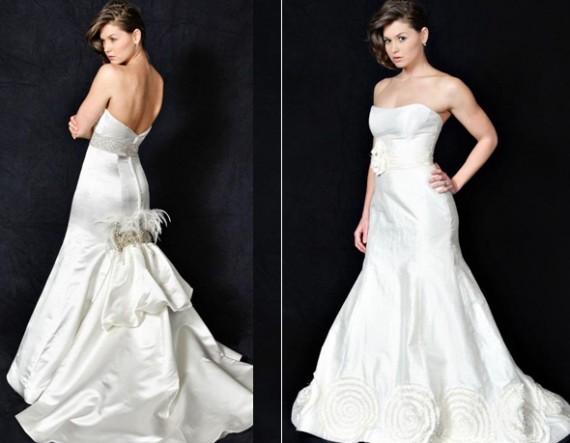 Heidi Elnora 2010 Wedding Gown
