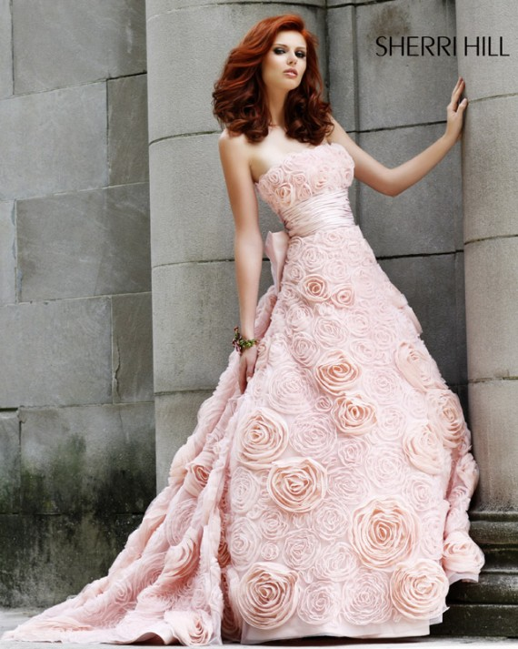 2010 sherri hill evening dresses wedding inspiration trends for Sherri hill wedding dresses