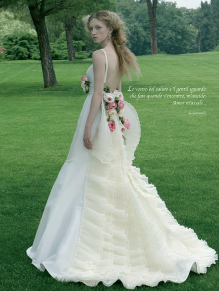Garden wedding dress collection by atelier aimee picture 3 for Bridesmaid dresses for a garden wedding