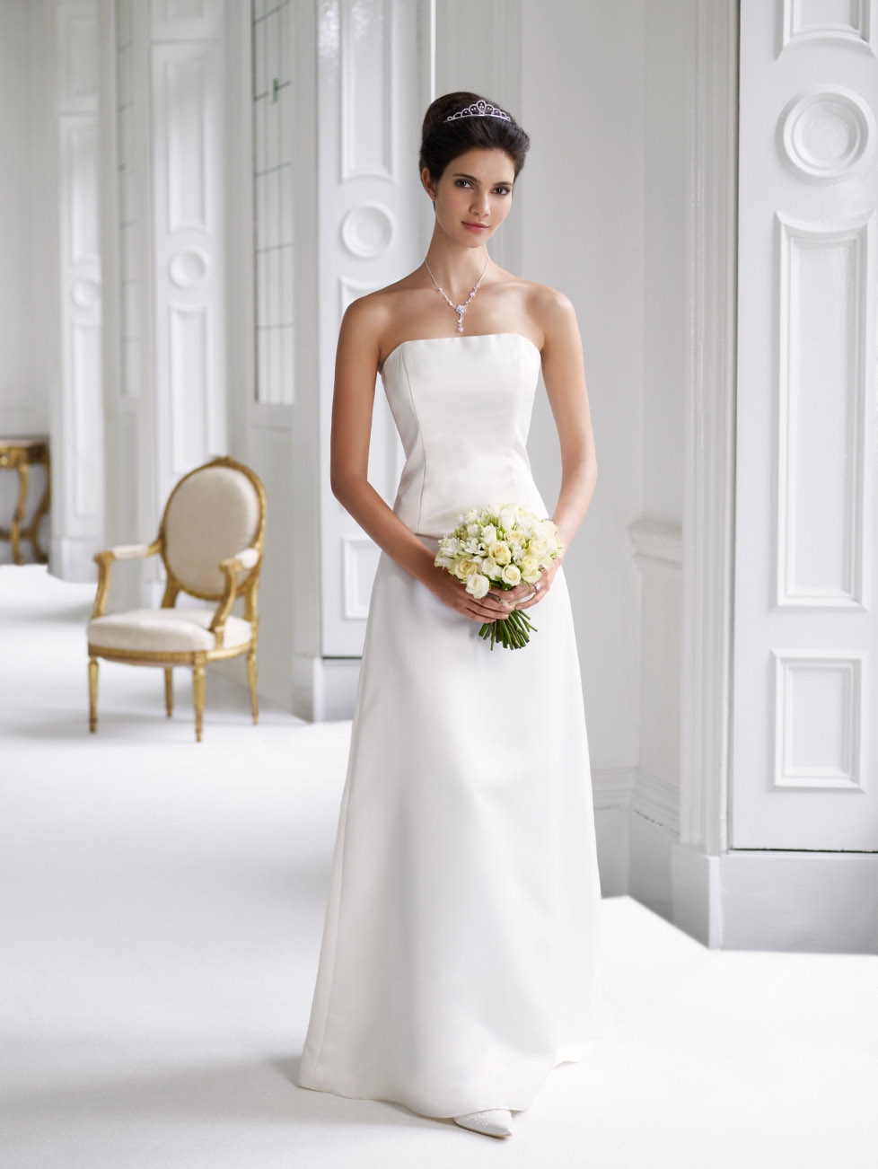 Wedding Dress Elegant Classic : Traditional formal wedding dresses white inspiration trends