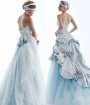2010 Blue Wedding Dresses Idea