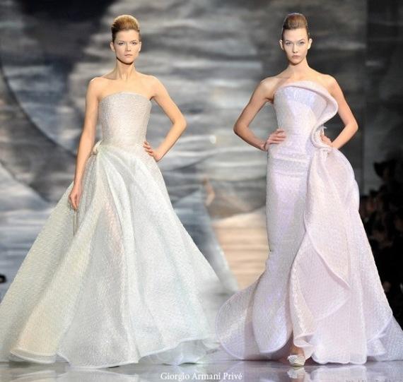 2010 giorgio armani couture wedding dress picture 1 for Giorgio armani wedding dress