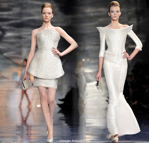 2010 Giorgio Armani Couture Wedding Dress Picture 2 | Wedding ...
