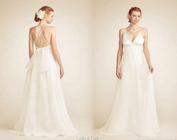 Alix & Kelly Elegant Silk Organza Wedding Gowns Picture 2 | Wedding ...