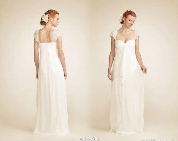 Alix & Kelly Elegant Silk Organza Wedding Gowns Picture 4 ...