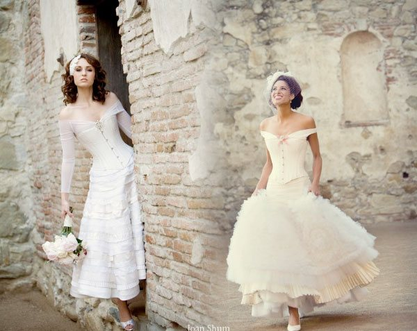 Corset Wedding Dresses By Joan Shum Picture 2