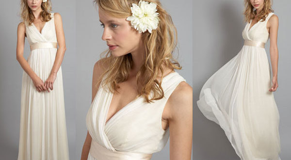 Grecian Goddess Wedding Dresses Picture 3