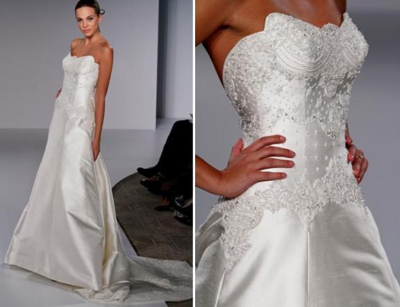 2010 Priscilla of Boston Wedding Dress Picture 3   Wedding ...