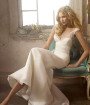 2010 White Satin Wedding Dress