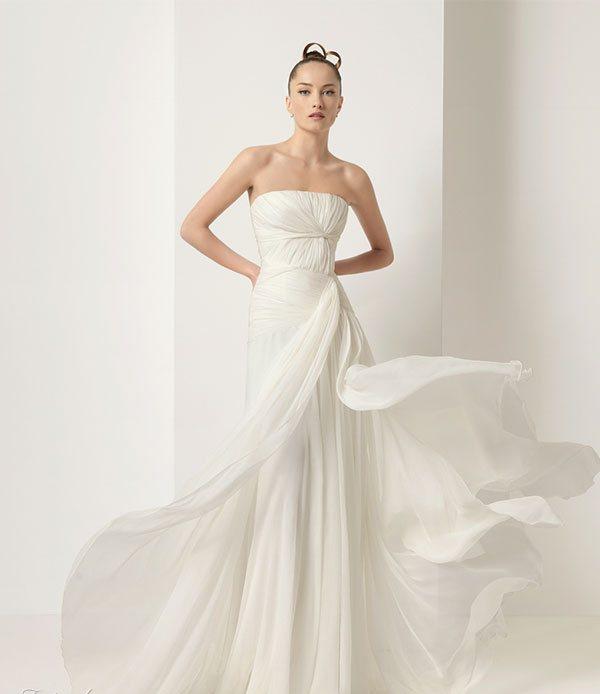 2011 Silk Satin Wedding Dress 1 Wedding Inspiration Trends