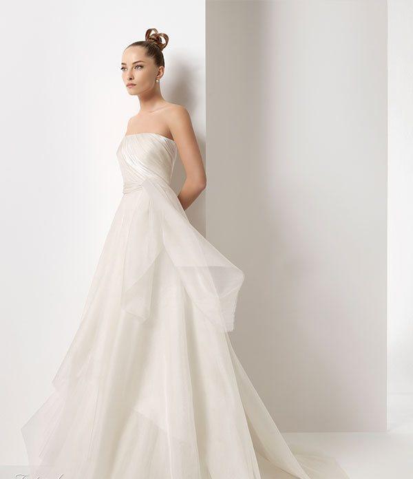 2011 Silk Satin Wedding Dress 2 | Wedding Inspiration Trends
