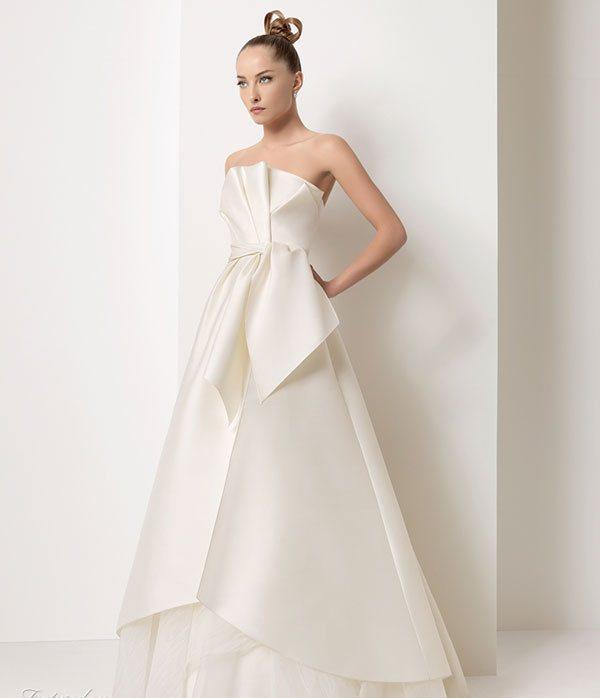 2011 Silk Satin Wedding Dress 3 Wedding Inspiration Trends