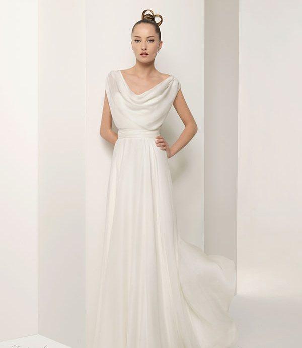 2011 Silk Satin Wedding Dress 5 | Wedding Inspiration Trends