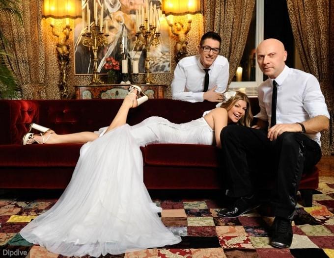 Fergie Wedding Dress Picture 1
