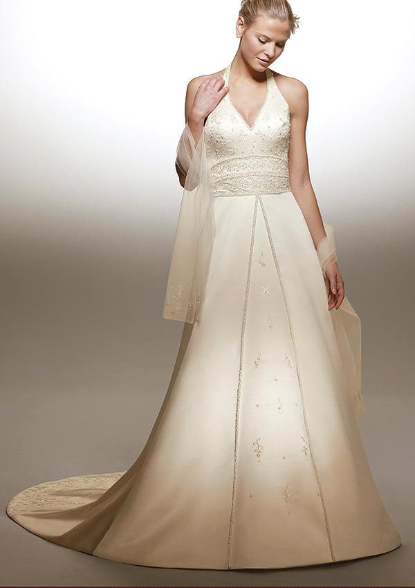 satin halter neck wedding dresses picture 1 wedding inspiration