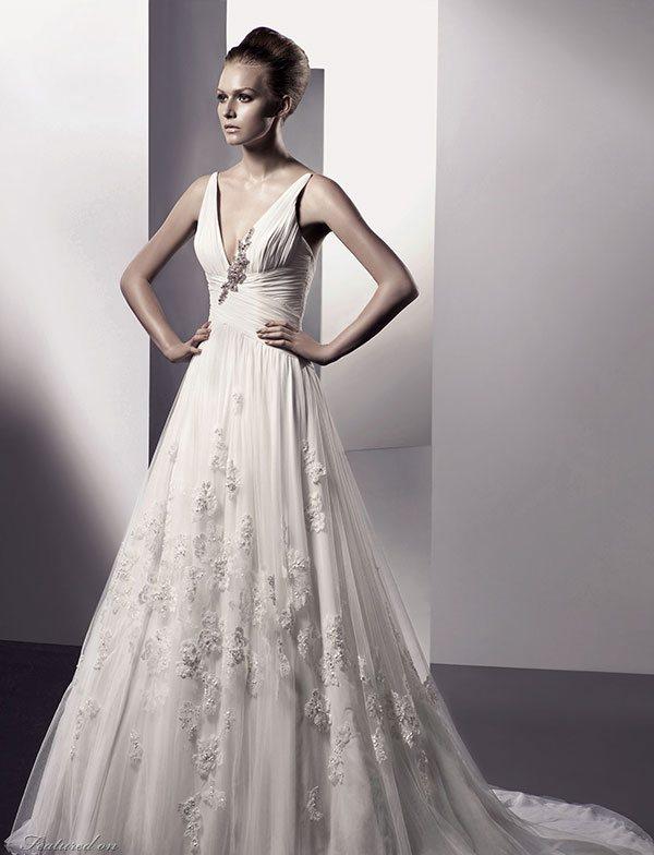 Parisian Chic Wedding Dress : French wedding dresses style dress