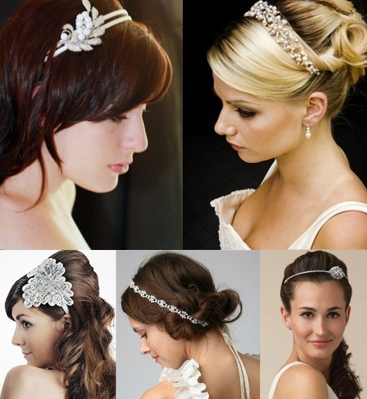 Bridal Hair Bands for your Wedding Hairstyle | Wedding Inspiration ...
