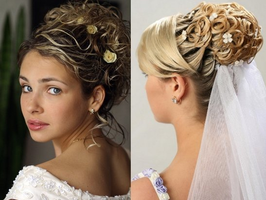 Bridal Updo hairstyle Idea for Wedding hairstyle