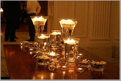 Creative Wedding Candle Decoration Ideas5