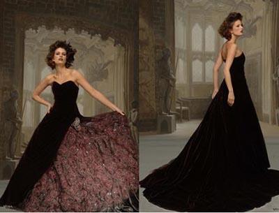 Haughty Black Wedding Gowns Wedding Inspiration Trends