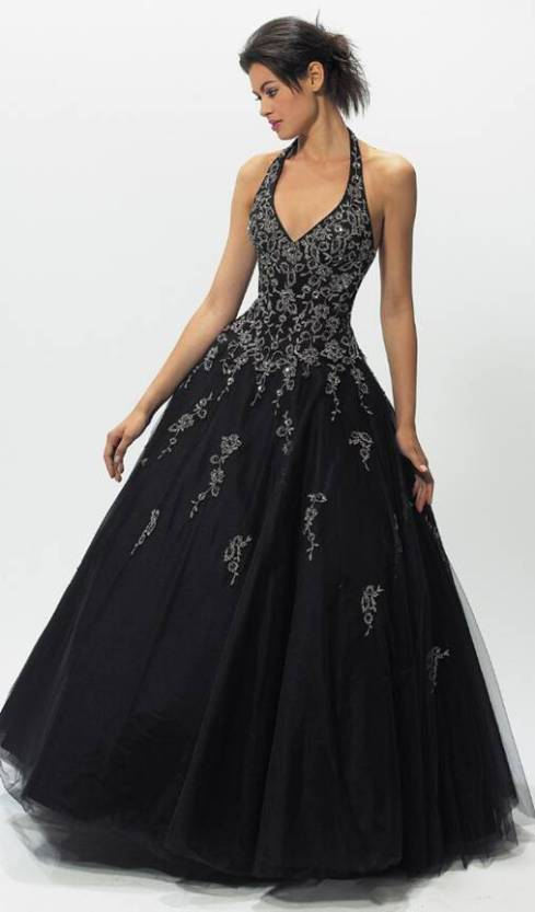Haughty Black Wedding Gowns Concept4 | Wedding Inspiration Trends