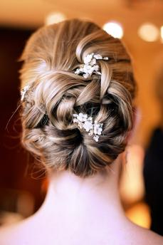 Soft and Romantic Wedding Hairstyle Romantic wedding hairstyles 2014