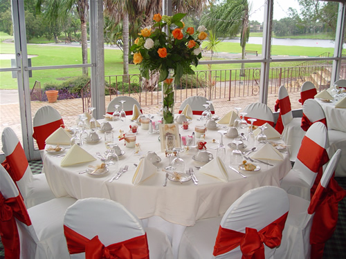 Gorgeous Valentines Day Wedding by Adam Barnes Tents Red