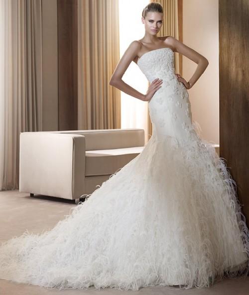 Drama and Balance Pronovias Wedding Dresses Collection ...