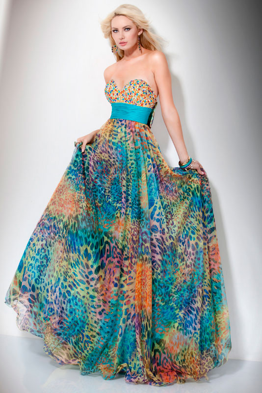 Feel like a princess in jovani prom dress1