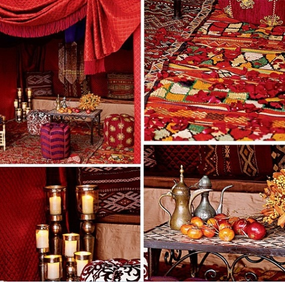 Morocco Style Idea Wedding Decoration3