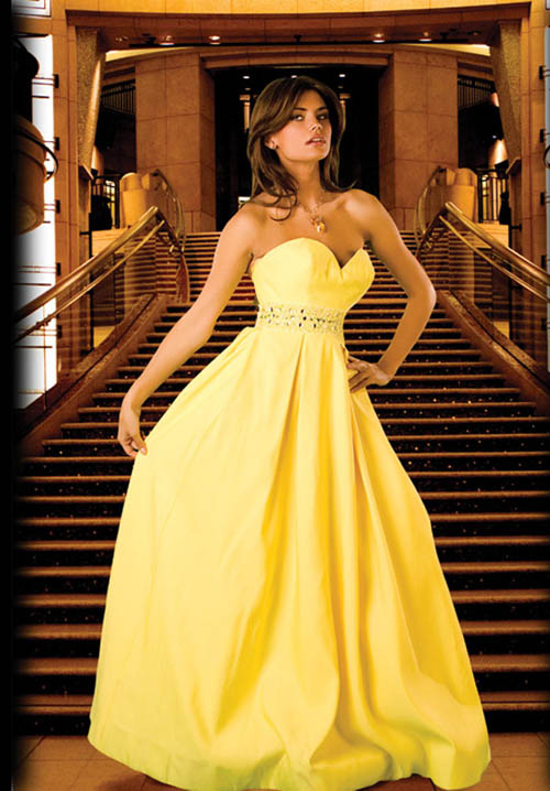 Bridal Dresses For Prom : Perfectly yellow prom dresses wedding inspiration trends