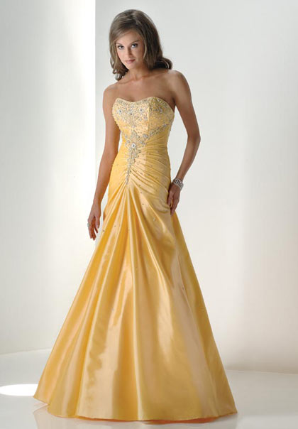 5 Styles Of Yellow Prom Dresses