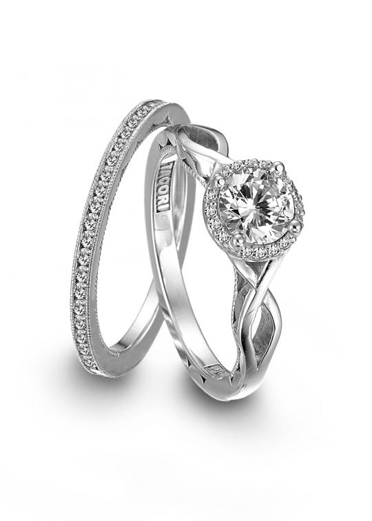 platinum engagement and wedding rings