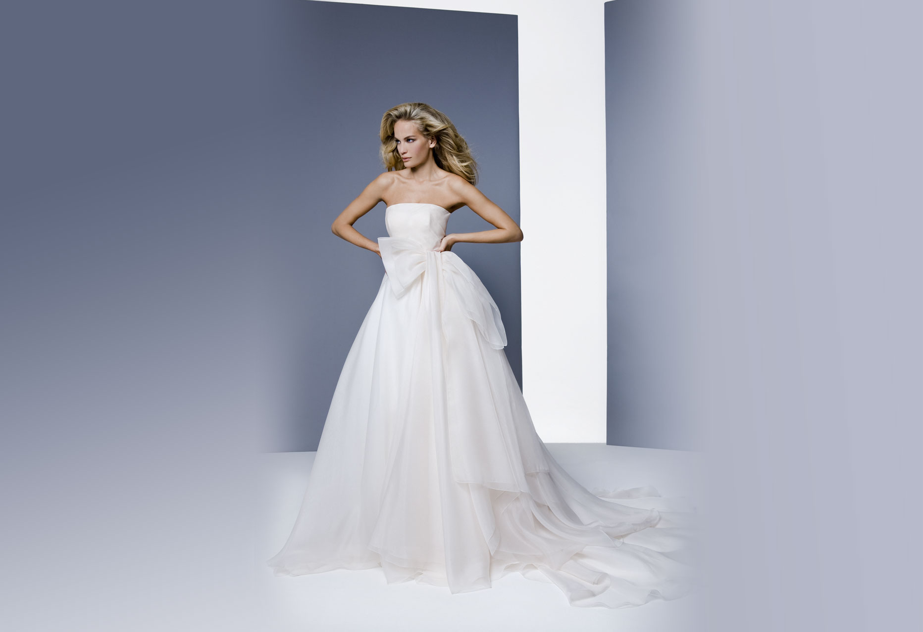 Pure Italian Silk Wedding Dresses from Antonio Riva 1