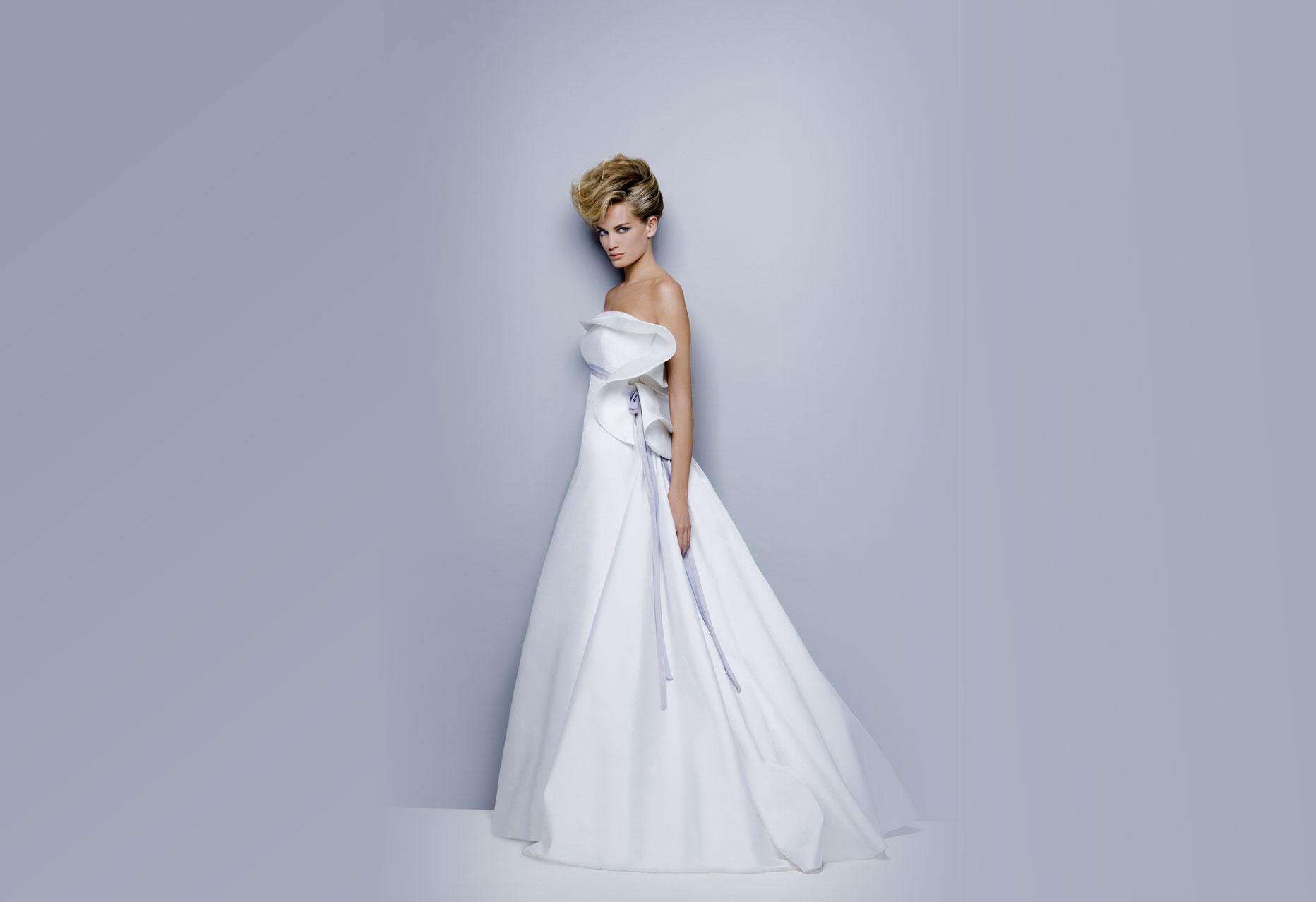 Pure Italian Silk Wedding Dresses from Antonio Riva 5