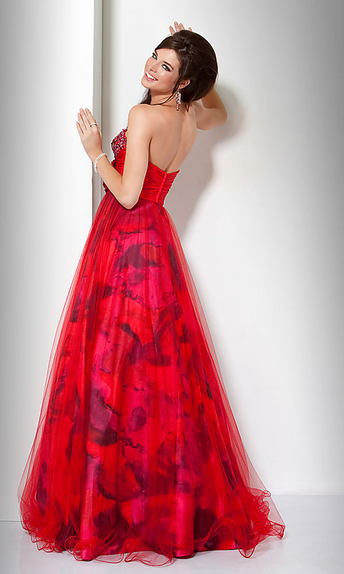 Red Ball Gown Jovani