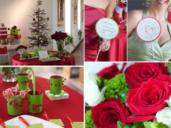 Green and red centerpiece ideas submited images - Green and red decorating ideas ...