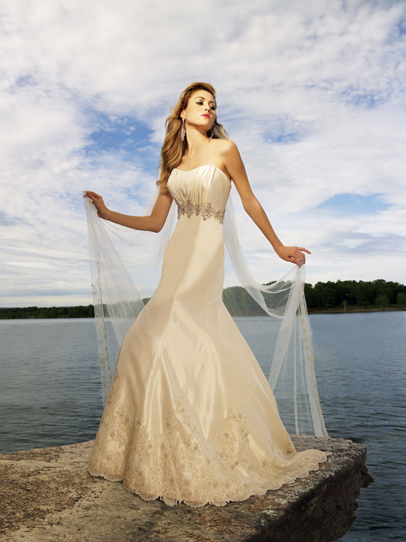 Romance Comes With Beach Wedding Dresses Collection Allure4
