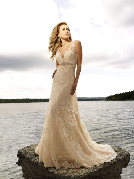 Beach Wedding Dresses Gallery : Wedding dresses designs photos pictures pics images beach
