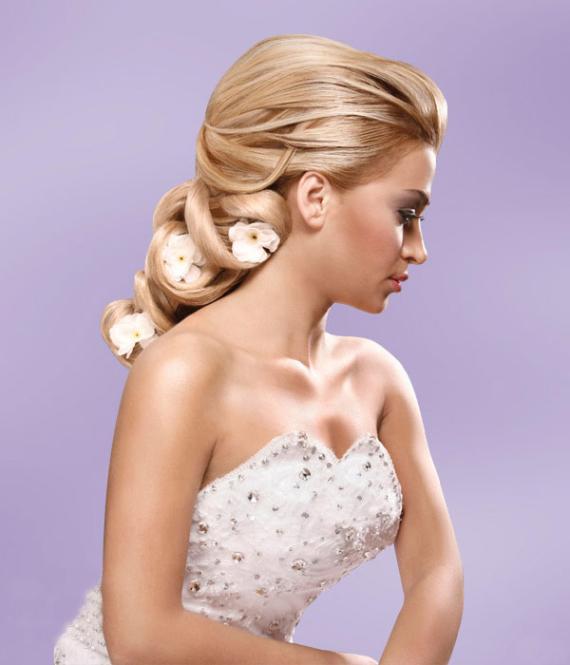 Talal Tabbara Romantic Wedding Hairstyles and Makeup ...