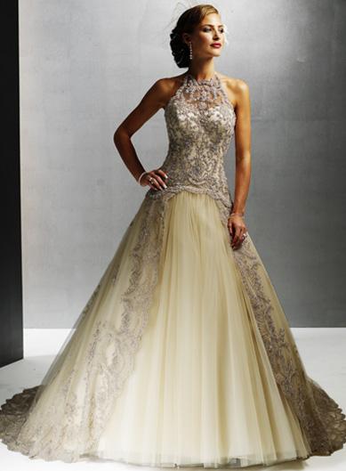 Champagne Colored Wedding Dresses Uk 38