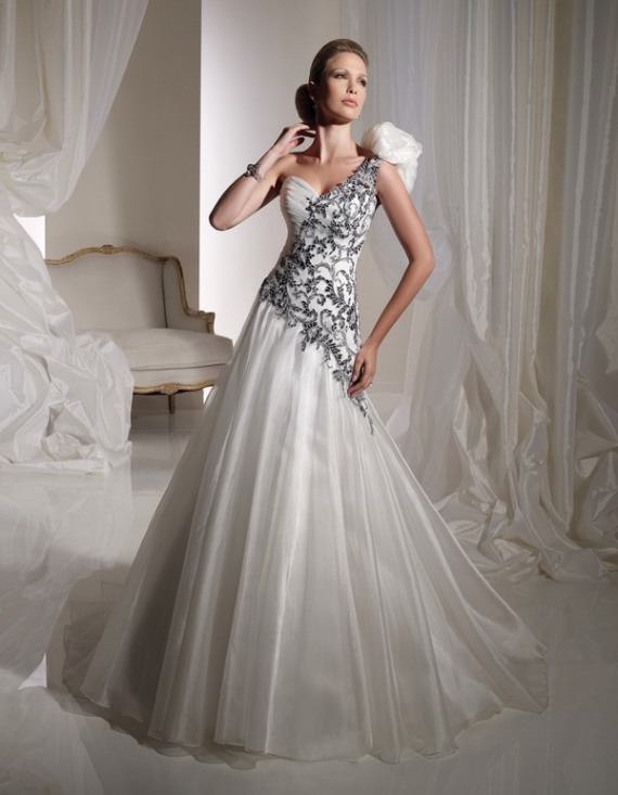 Airy And Feminine Organza Gown From Mon Cheri 1