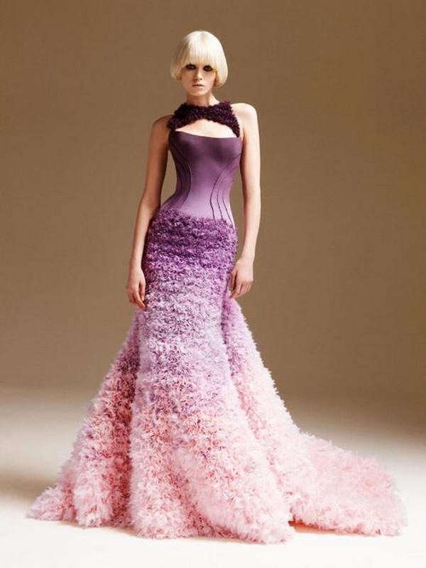 Famous Feminine Spring Dresses 2011 from Atelier Versace 1 ...