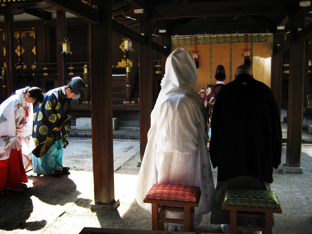 Japanese Wedding Ceremony 3