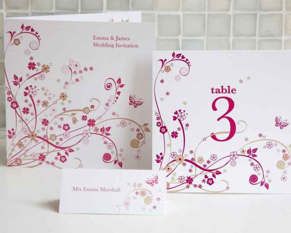 Wedding invitation card 4