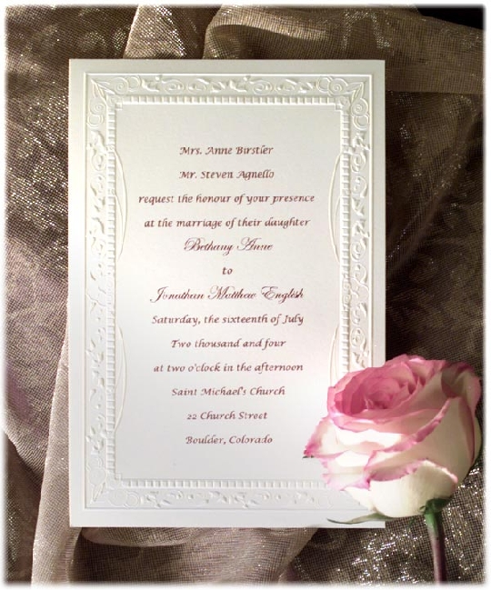 How To Write Invitation Card