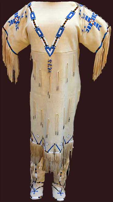 Native American wedding dress 2