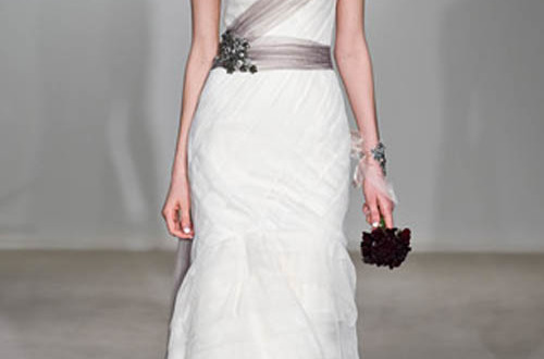 Vera Wang wedding gown 3