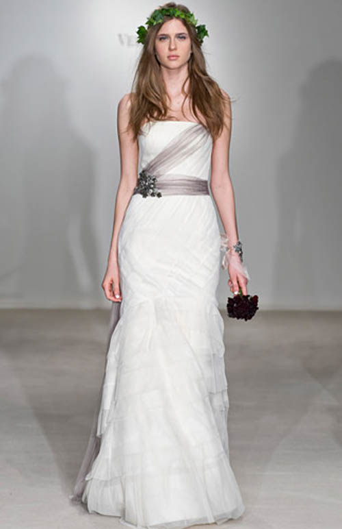 Vera Wang wedding gown 3